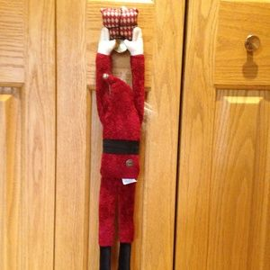 Woof & Poof Holiday - WOOF & POOF - 2003 Hanging Santa - Excellent Cond.